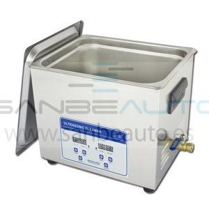 Máquina lavapiezas de ultrasonido 3.2L  240x135x100mm 100w control de tiempo y temperatura digital 230V 50Hz 1Ph