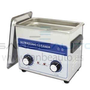 Máquina lavapiezas de ultrasonido 10,8L  300x240x1500mm 240w control de tiempo y temperatura analógico 230V 50Hz 3Ph