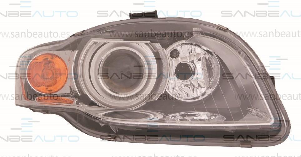 AUDI A4 04-*FARO DCH CON REGULACION ELECTRICA D1S (XENON) CON PILOTO AMARILLO