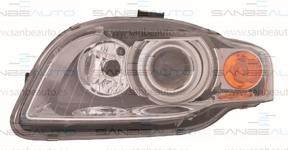 AUDI A4 04-*FARO IZQ CON REGULACION ELECTRICA D1S (XENON) CON PILOTO AMARILLO