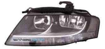 AUDI A4 07-*FARO DCH CON REGULACION ELECTRICA OSCURO H7/H7
