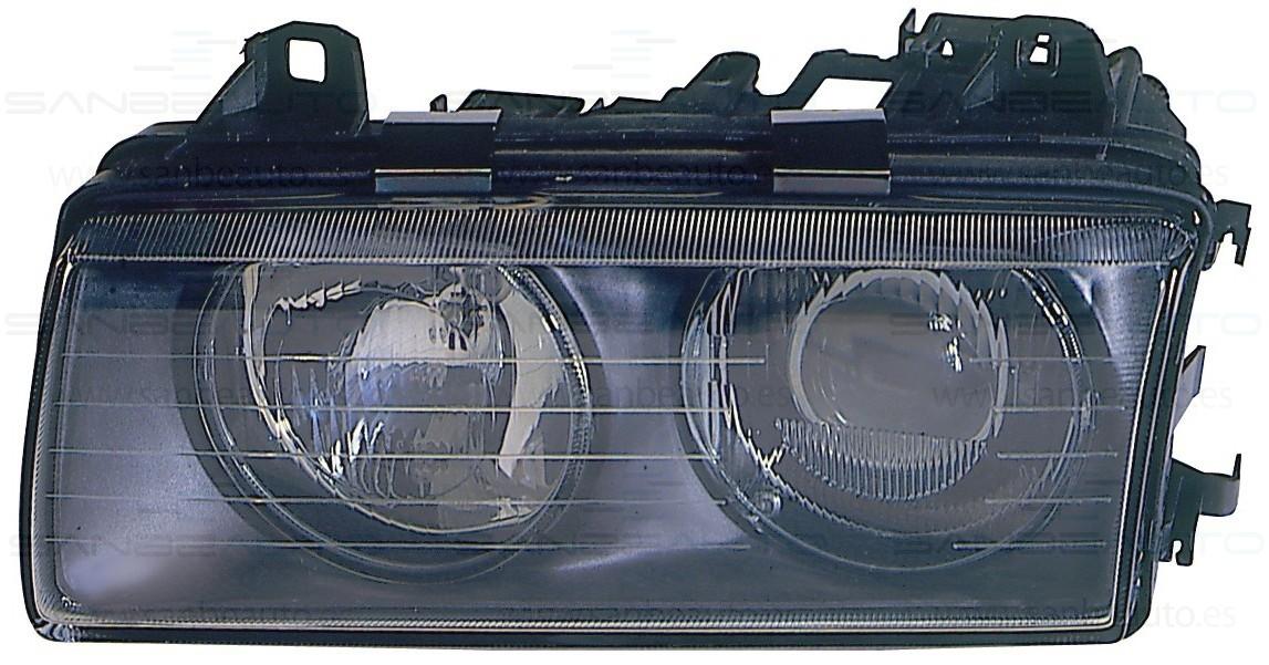 BMW E36 91-*FARO IZQ TIPO ZKW