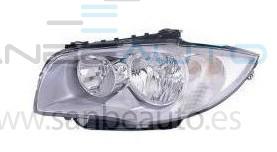 BMW S/1 E87 04-*FARO IZQ CON REGULACION  ELECTRICO