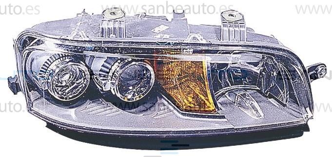FIAT PUNTO 99-*FARO DCH CON REGULACION ELECTRICA H7/H7