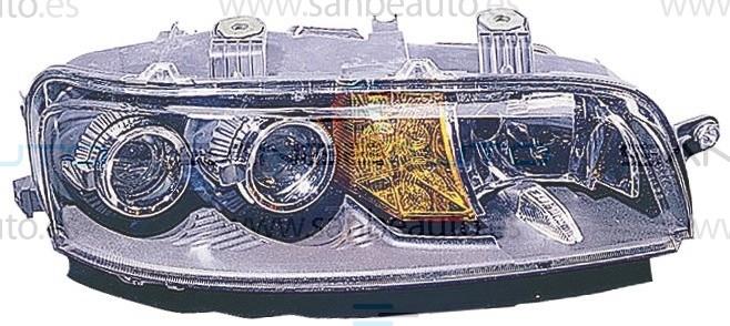 FIAT PUNTO 99-*FARO DCH CON REGULACION ELECTRICA CON ANTINIEBLA H7/H7