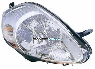 FIAT GRANDE PUNTO 08-*FARO DCH CON REGULACION ELECTRICA INTERIOR CROMADO (8 PINS CONEXION MORADA)