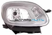FIAT PANDA 12-*FARO DCH CON REGULACION ELECTRICA CON MOTOR H4