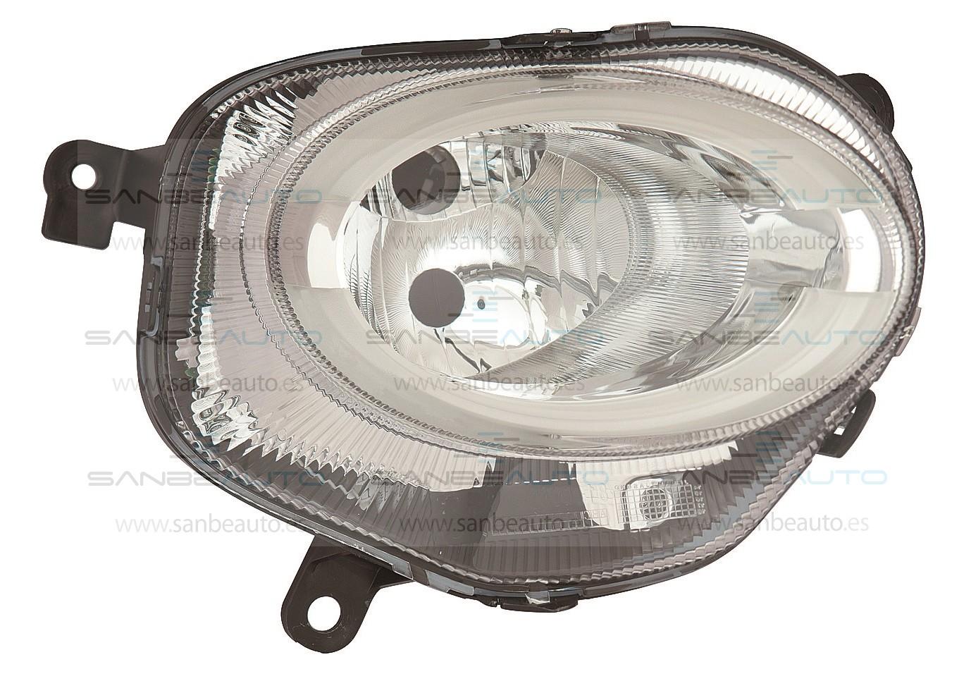 FIAT 500 15-*FARO DCH CON REGULACION ELECTRICA H7/LED