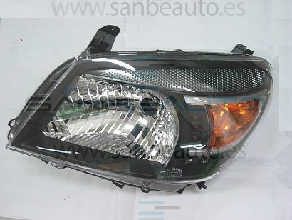FORD RANGER 09-*FARO IZQ CON REGULACION MANUAL/ELECTRICA(INTERIOR NEGRO)