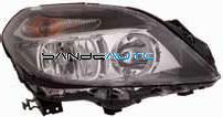 MERCEDES B W246 12-*FARO DCH CON REGULACION ELECTRICA CON MOTOR H7/H7