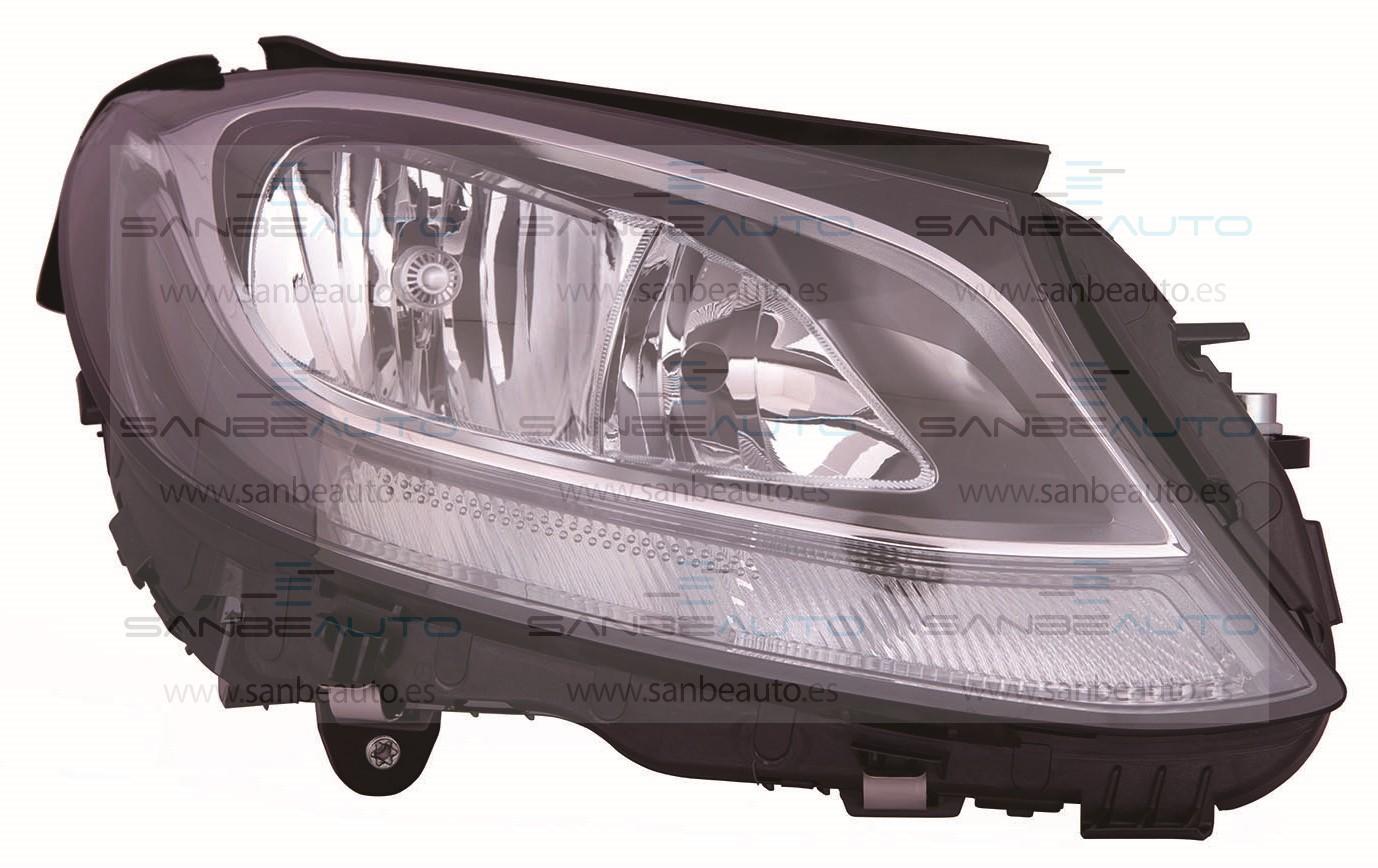 MERCEDES C W205 14-*FARO DCH CON REGULACION ELECTRICA CON MOTOR H7/H7(LED)