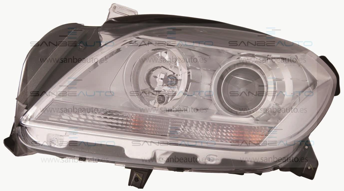 MERCEDES M W166 12-*FARO IZQ CON REGULACION ELECTRICA CON MOTOR