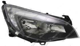 OPEL ASTRA 10-*FARO DCH CON REGULACION ELECTRICA  CON MOTOR INTERIOR OSCURO  H7/H7