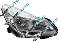 OPEL CORSA 2011-*FARO DCH CON REGULACION ELECTRICA CON MOTOR INTERIOR CROMADO