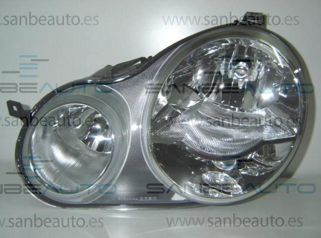 VW POLO 02-*FARO IZQ CON REGULACION  ELECTRICA. TIPO AL