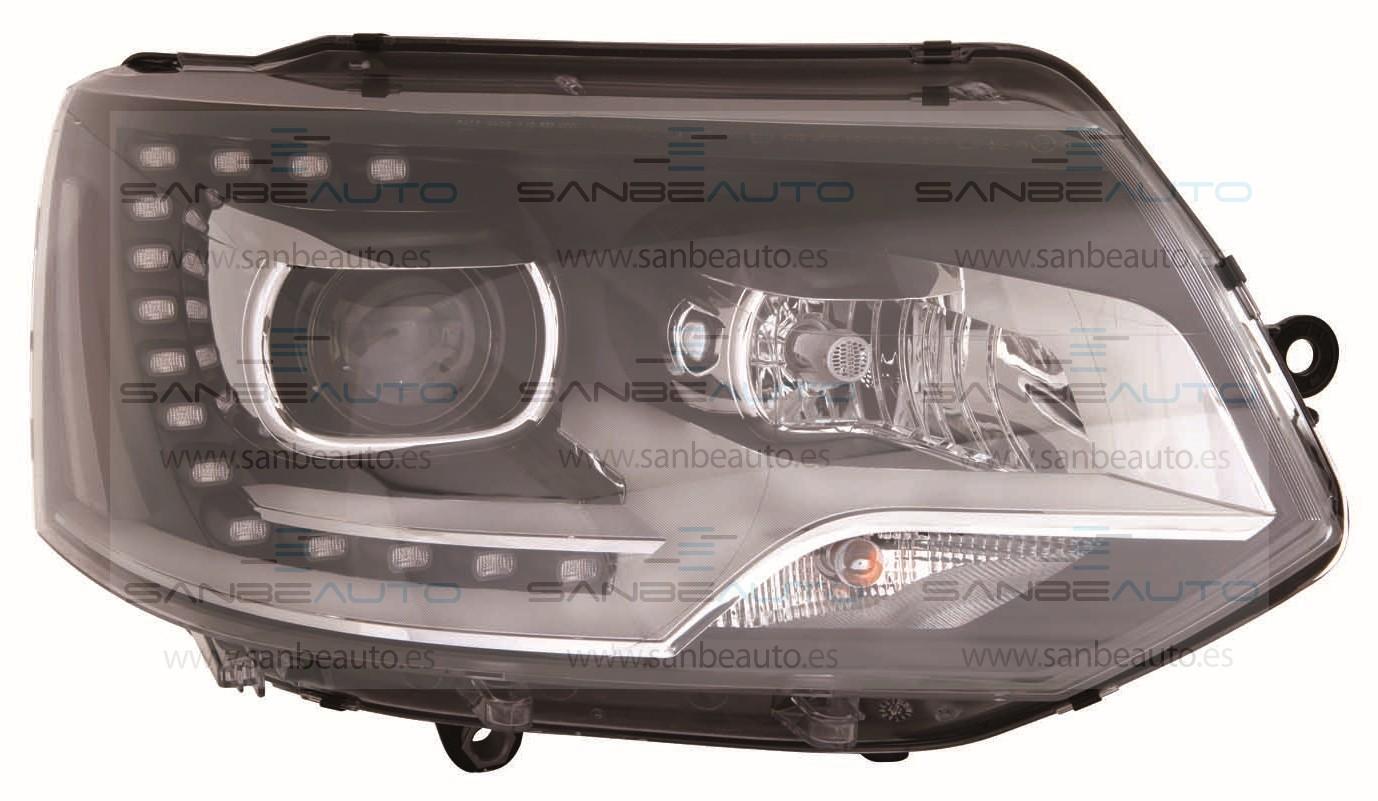 VW TRANSPORTER T5 10-*FARO DCH CON REGULACION ELECTRICA CON MOTOR D3S/H7/LED (XENON)