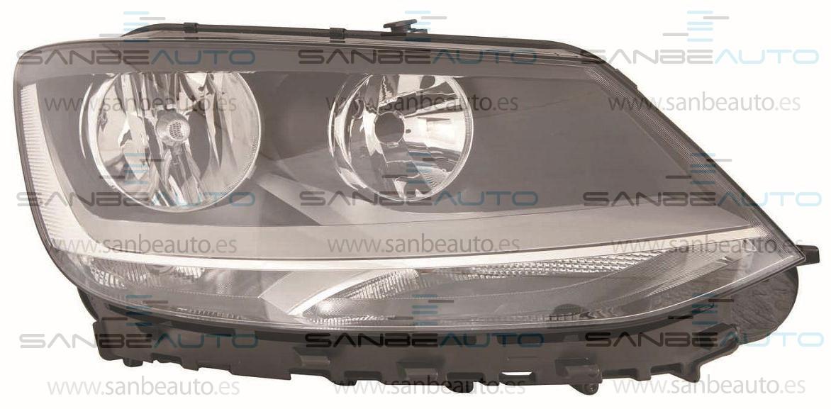 VW SHARAN 10-*FARO DCH CON REGULACION ELECTRICA CON MOTOR H7/H7