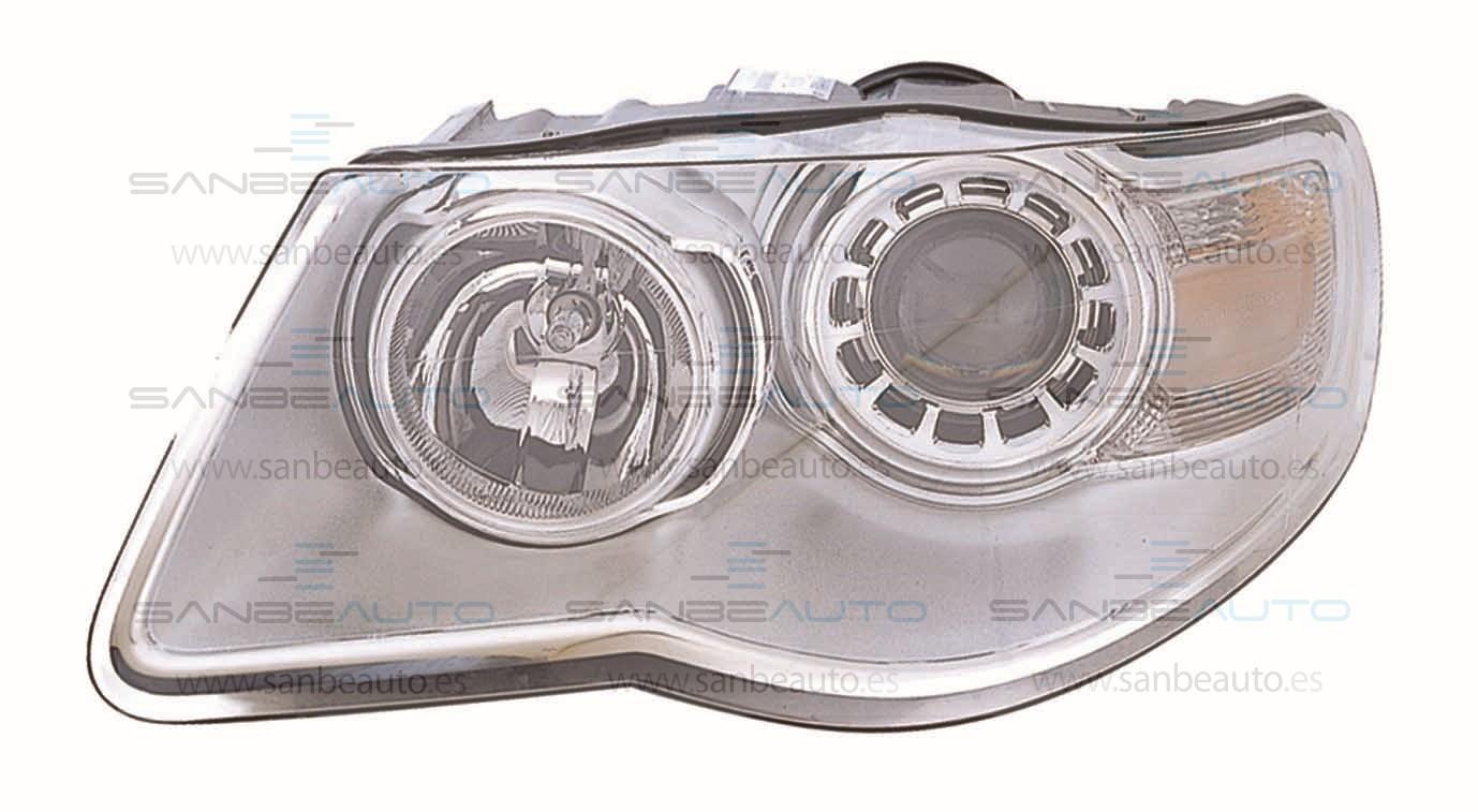 VW TOUAREG 08-*FARO IZQ CON REGULACION ELECTRICA CON MOTOR H9/H7