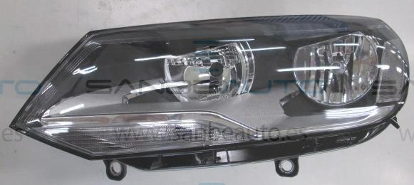 VW TOUAREG 10-*FARO IZQ CON REGULACION ELECTRICA CON MOTOR H7/H15