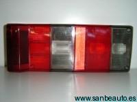AUTOBIANCHI Y10 89-*CRISTAL TRASERO DCH