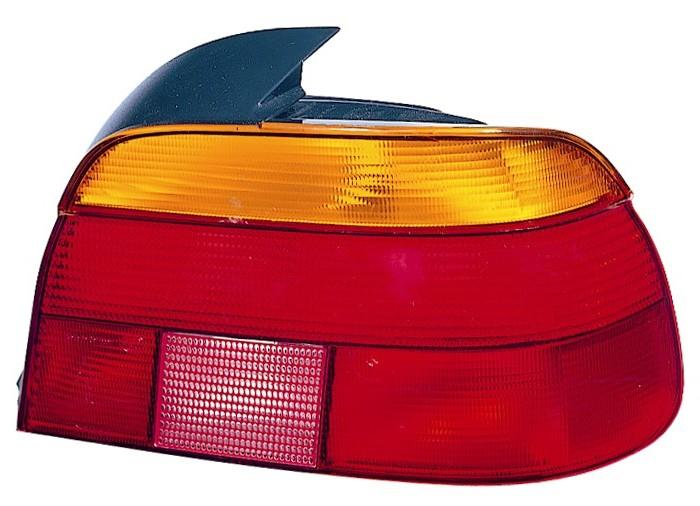 BMW E39 95-*PILOTO TRASERO DCH AMARILLO