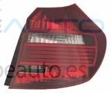 BMW S/1 E81 07-*PILOTO TRASERO DCH OSCURO(LED)
