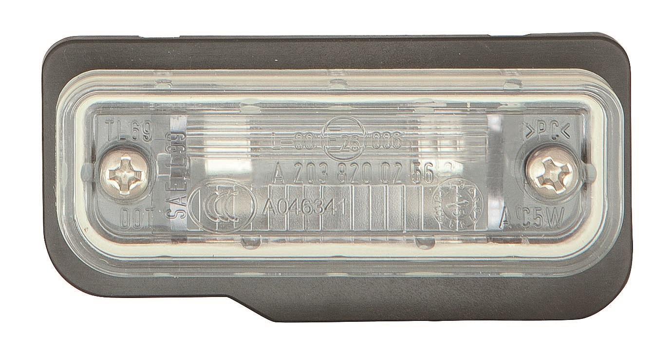 MERCEDES C W203/W219 01-*PILOTO MATRICULA