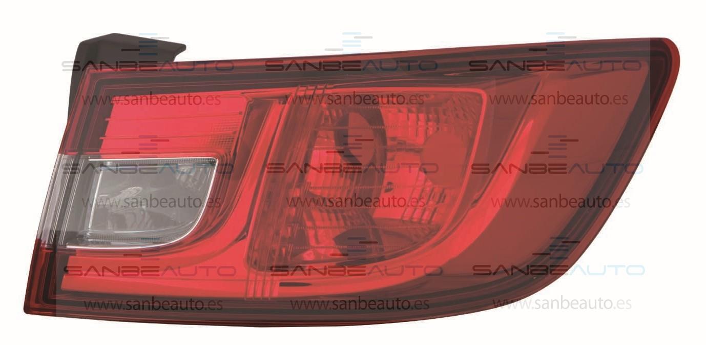RENAULT CLIO 16-*PILOTO TRASERO DCH EXTERIOR