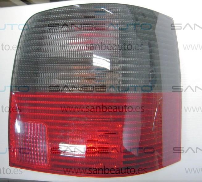 VW PASSAT 96-*PILOTO TRASERO DCH AHUMADO/ROJO(SW)