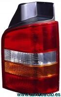 VW TRANSPORTER 03-*PILOTO TRASERO  DCH AMARILLO 1 PUERTA