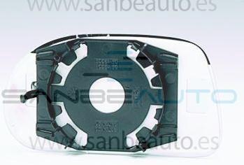 FIAT BRAVO/BRAVA 95-*CRISTAL ESPEJO SOPORTE IZQ