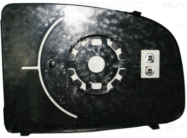 FIAT DUCATO/JUMP/BOX 06-*CRISTAL ESPEJO DCH SOPORTE TERMICO CONVEXO  (SOLO VALIDO PARA RETROVISOR ORIGINAL)