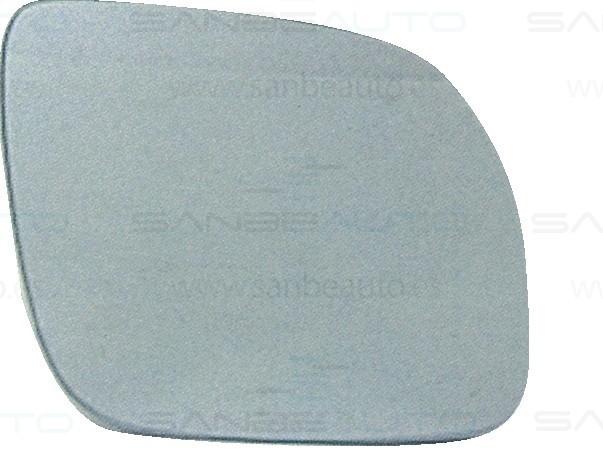 SEAT IBIZA/GOLF 99-*CRISTAL RETROVISOR CON SOPORTE DCH CONVEXO AZULADO CALEFACTADO(GRANDE)