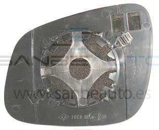 CHEVROLET SPARK 10-*CRISTAL RETROVISOR DCH CONVEXO TERMICO