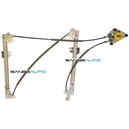 AUDI A1 10-* ELEVALUNAS ELECTRICO DELANTERO IZQ 2 CONECTORES(SIN MOTOR)