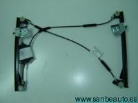 SEAT IBIZA 02-*ELEVALUNAS ELECTRICO DELANTERO IZQ 3P(SISTEMA COMFORT) SIN MOTOR