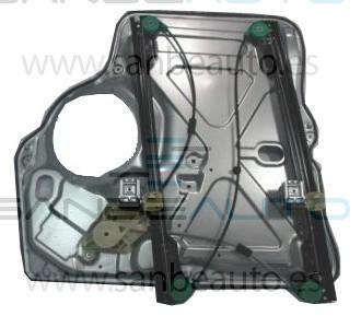 VW TRANSPORTER 03-09*ELEVALUNAS ELECTRICO+PANEL DELANTERO DCH SIN MOTOR