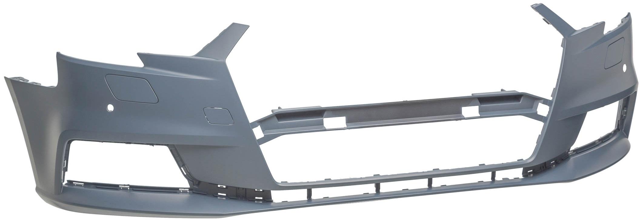 AUDI A3 16-*PARAGOLPES DELANTERO PARA PINTAR  CON 2 AGUJEROS PARA SENSOR