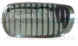 BMW E46 2P 03-*REJILLA IZQ(CROM+NEGRA)