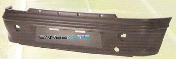 FIAT BRAVO 95-*PARAGOLPES TRASERO NEGRO 3 PUERTAS