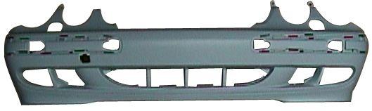MERCEDES W210 99-*PARAGOLPES DELANTERO PARA PINTAR CON AGUJEROS PARA LAVAFAROS
