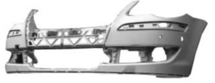 VW TOURAN 06-*PARAGOLPES DELANTER. PARA PINTAR CON AGUJEROS SENSOR +PDC