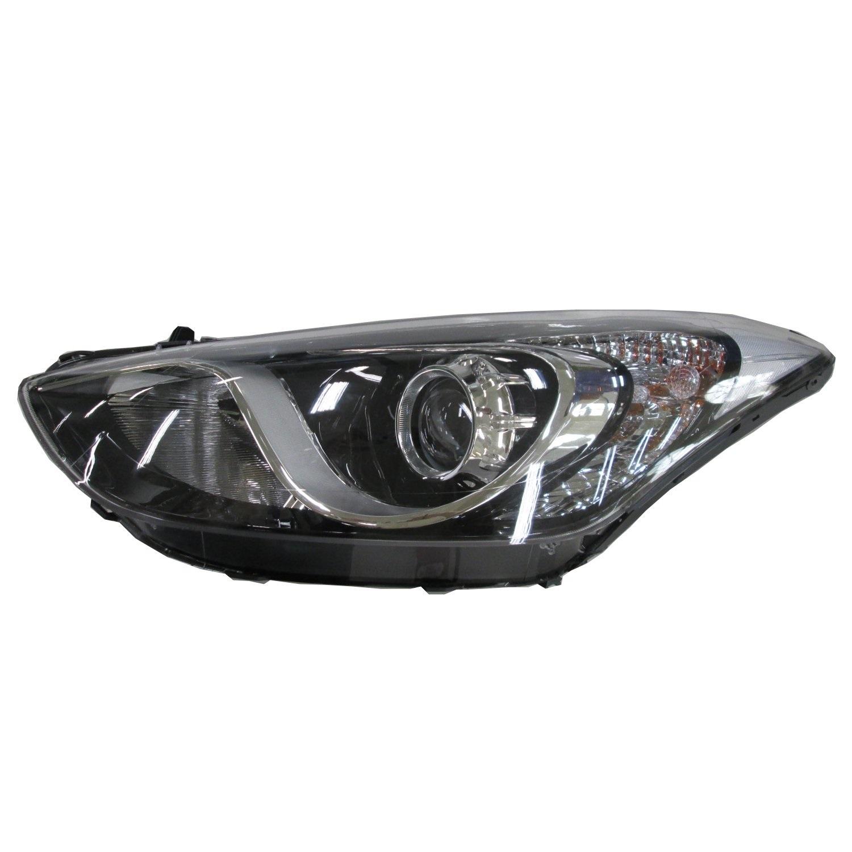 HYUNDAI I30 H/B 15-*FARO IZQ CON REGULACION ELECTRICA CON MOTOR INTERIOR CROMADO (H7/H7/PY21W/W5W)