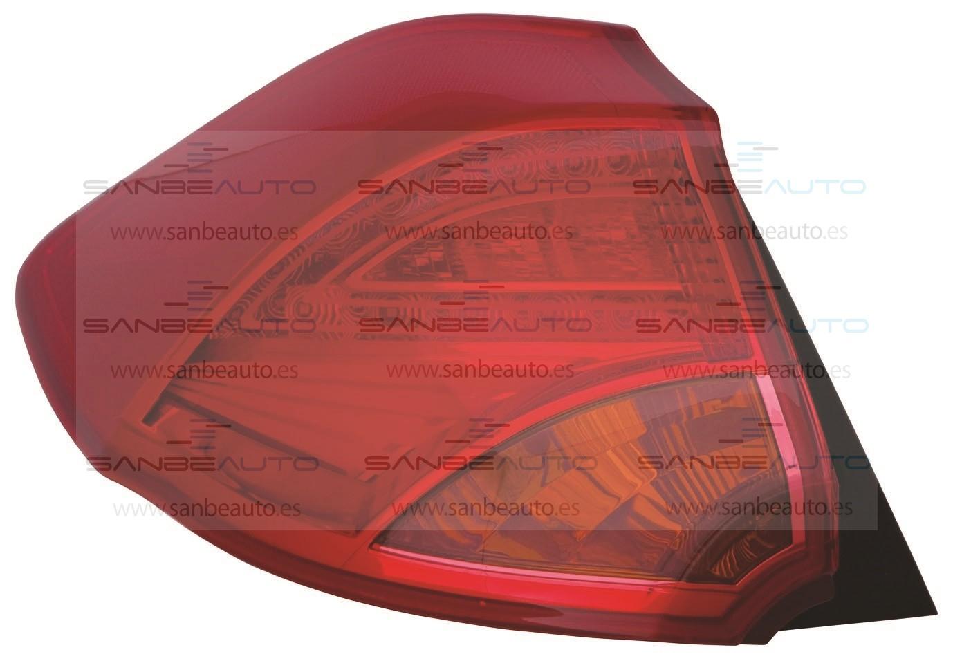 KIA CEED 13-*PILOTO TRASERO IZQ EXTERIOR 3/5 P LED