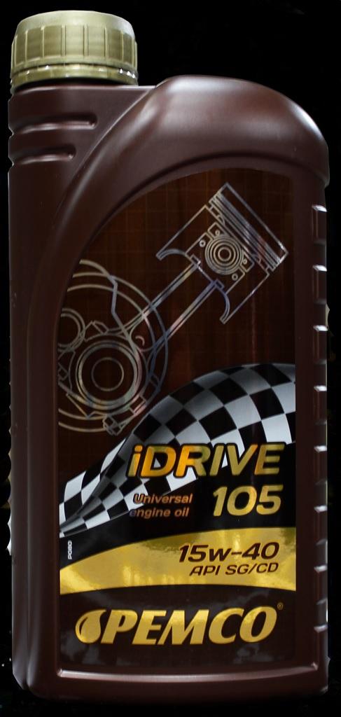 PM IDRIVE 105 15W-40 - 1L(SG/CD) MINERAL