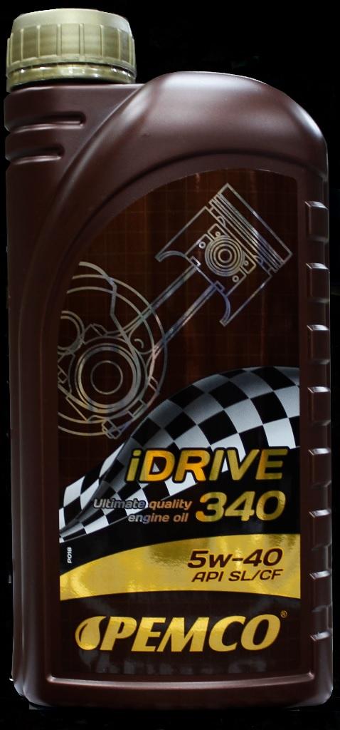PM IDRIVE 340 5W-40 - 1L(SN/CF/A3/B4/VW50500) SINTETICO