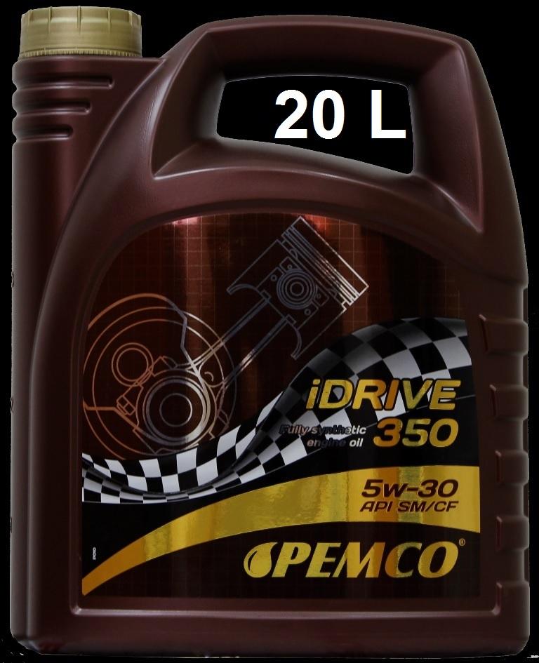 PM IDRIVE 350 5W-30 - 20L(SM/A3/C3/B4/VW504/50700) SINTETICO