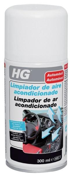 LIMPIADOR COCHE HG AIRE ACONDICIONADO