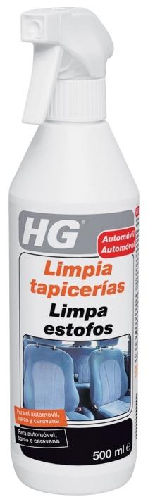 LIMPIADOR COCHE HG TAPICERIA SPRAY 500ML