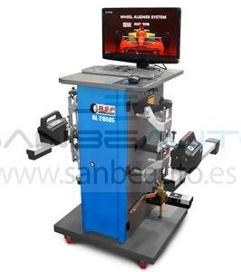 Alineadora de dirección CCD 1 eje 2 captador + 2 repetidor comunicación inalámbrica con equipo informático actualización gratis 220V